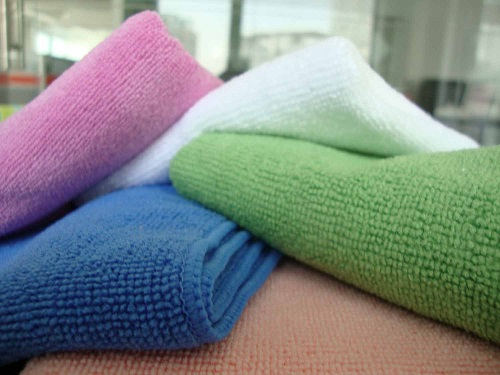 Different Colored Microfiber Towels
