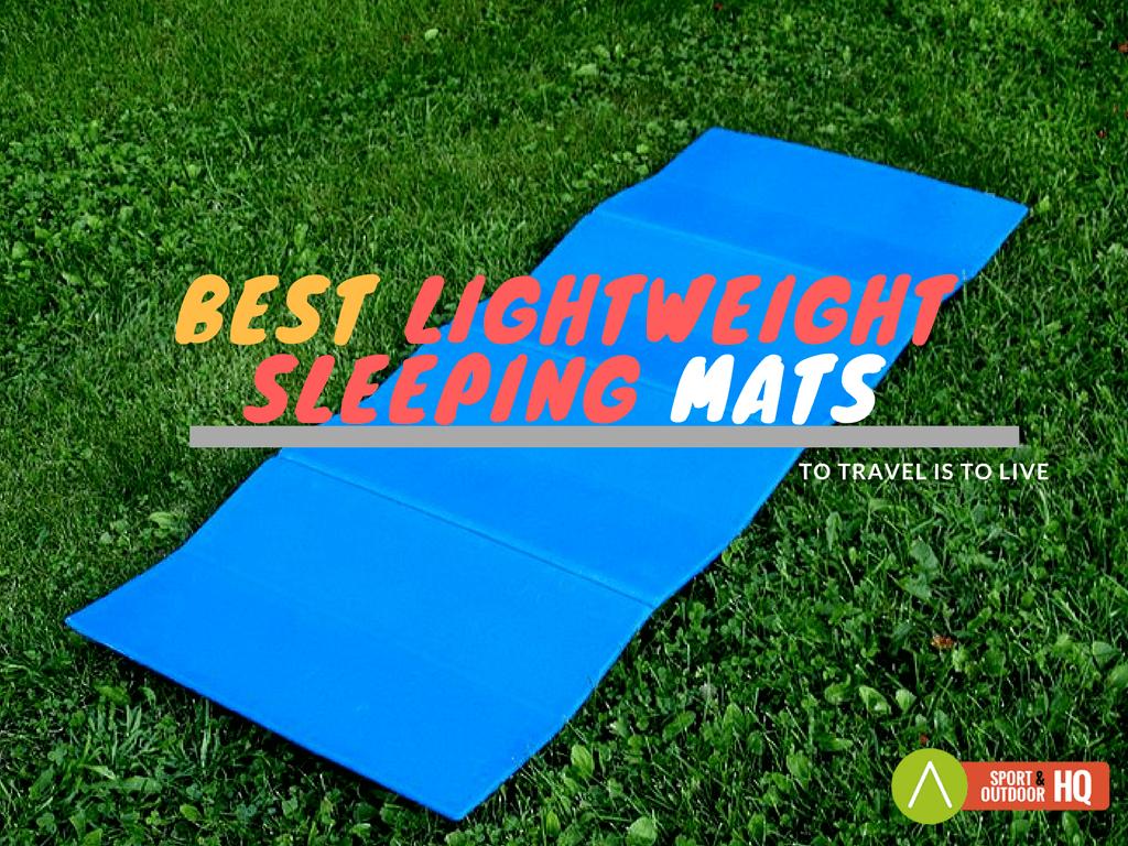 best lightweight sleeping mats