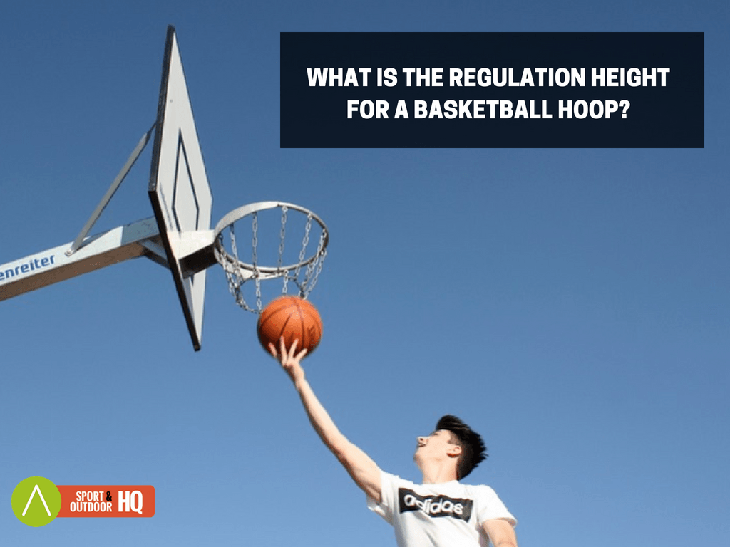 what is the Regulation Height for a Basketball Hoop