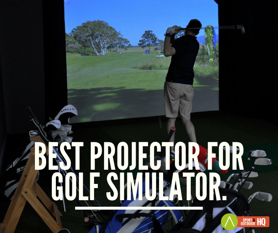 best golf simulator projector